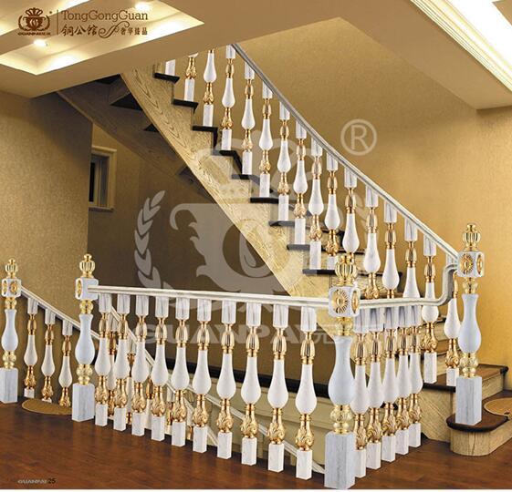 楼梯立柱制作的知识_铜艺楼梯_铝艺楼梯_楼梯护栏_铜
